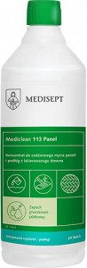 <b>Mediclean 113 Panel 1l.</b> Preparat do mycia paneli i drewna.