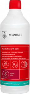<b>Mediclean 310 Sanit Wiśnia 1l.</b> Preparat do mycia.
