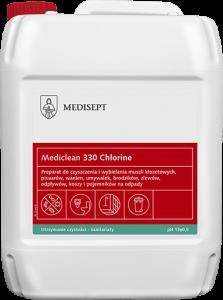 <b>Mediclean 330 Chlorine 5l. </b>Preparat do czyszczenia i wybielania.