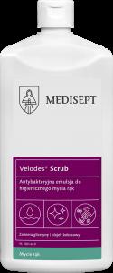 <b>Velodes Scrub 500ml.</b> Antybakteryjna emulsja domycia rąk.