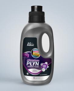 <b>Płyn do prania tkanin czarnych i kolorowych</b> z nanocząsteczkami srebra 1l.