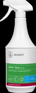 <b>Velox Spray Neutral 1l. </b>Spray domycia idezynfekcji powierzchni.