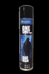 <b>One Shot Bad Man 600ml.</b> Odświeżacz powietrza.