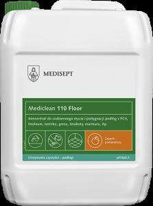 <b>Mediclean 110 Floor Pomarańcza 5l. </b>Preparat do bieżącego mycia podłóg.