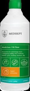 <b>Mediclean 110 Floor Pomarańcza 1l.</b> Preparat do bieżącego mycia podłóg.