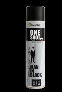 <b>One Shot Man in Black 600ml.</b> Odświeżacz powietrza.