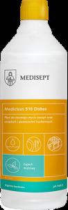<b>Mediclean 510 Dishes Miętowy 1l.</b> Płyn do mycia naczyń.