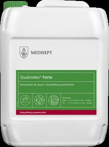 <b>Quatrodes® Forte 5l.</b> Koncentrat domycia idezynfekcji powierzchni.
