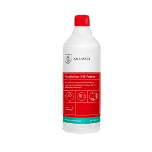 <b>Mediclean 315 Power 1l.</b> Koncentrat do czyszczenia powierzchni sanitarnych.