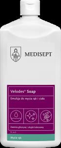 <b>Velodes Soap 500ml.</b> Emulsja do mycia rąk i ciała.