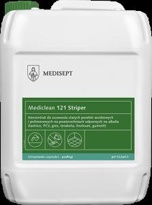 <b>Mediclean 121 Striper 5l.</b>  Preparat dousuwania starych powłok woskowych ipolimerowych.