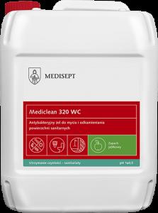 <b>Mediclean 320 WC 5l.</b> Żel do mycia urządzeń sanitarnych.