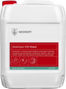 <b>Mediclean 315 Power 5l.</b> Koncentrat do czyszczenia powierzchni sanitarnych.