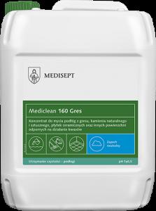 <b>Mediclean 160 Gres 5l.</b> Koncentrat do doczyszczania i usuwania soli.