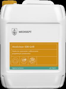 <b>Mediclean 530 Grill 5l.</b>  Pianka doczyszczenia iodtłuszczania przypalonych powierzchni.