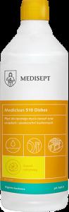 <b>Mediclean 510 Dishes Cytrynowy 1l.</b> Płyn do mycia naczyń.