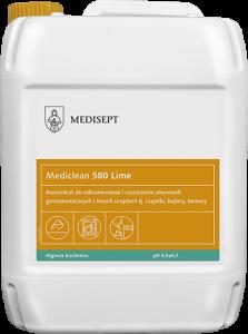 <b>Mediclean 580 Lime 5l. </b>Odkamieniacz dozmywarek iurządzeń gastronomicznych.