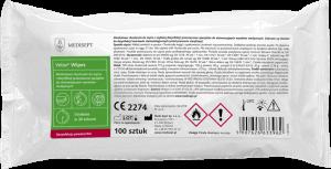 <b>Velox® Wipes.</b> Alkoholowe chusteczki do mycia wyrobów medycznych 100szt.