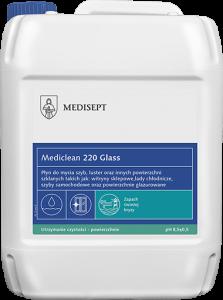 <b>Mediclean 220 Glass 5l.</b> Preparat do mycia szyb.