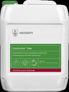 <b>Quatrodes® One 5l.</b> Koncentrat domycia idezynfekcji powierzchni.