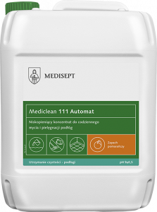 <b>Mediclean 111 Automat 5l.</b> Preparat do maszynowego mycia podłóg.