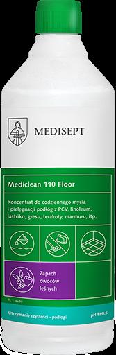 <b>Mediclean 110 Floor Owoce leśne 1l. </b>Preparat do bieżącego mycia podłóg.